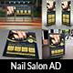 Nail Salon Advertising Bundle Vol.2 - GraphicRiver Item for Sale