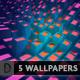 EXTRUDIUM Wallpaper (Customizable) - GraphicRiver Item for Sale