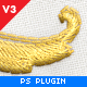Realistic Embroidery - Photoshop Plugin - GraphicRiver Item for Sale