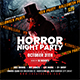 Horror Night Party | Halloween Flyer - GraphicRiver Item for Sale