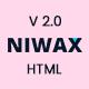 Niwax - Creative Agency & Portfolio HTML Template - ThemeForest Item for Sale
