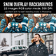 Snow Overlay  - GraphicRiver Item for Sale