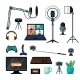 Equipment for Streamers and Bloggers Set - GraphicRiver Item for Sale