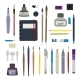 Drafting and Painting Tools Set - GraphicRiver Item for Sale
