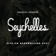 Seychelles Handwriting Font - GraphicRiver Item for Sale