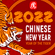 Template For Chinese New Year Party Flyer Or Invitation - GraphicRiver Item for Sale