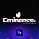Eminence   Glitch Logo for Premiere Pro - VideoHive Item for Sale