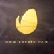 Golden Brush Logo - VideoHive Item for Sale