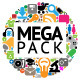 Mega Pack Of 72 Icons And Buttons - GraphicRiver Item for Sale