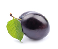 Sweet plums on white backgrounds - PhotoDune Item for Sale