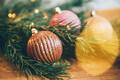 Chocolate ball Christmas decoration. - PhotoDune Item for Sale
