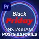 Black Friday Sale Glow Instagram Ad | Mogrt 159 - VideoHive Item for Sale