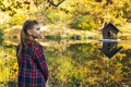 Girl in an autumn forest - PhotoDune Item for Sale