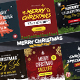 Merry Christmas Instagram Post - VideoHive Item for Sale