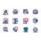 Auction Line Icons Set - GraphicRiver Item for Sale
