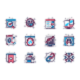 Seo Optimization Line Icons Set - GraphicRiver Item for Sale
