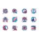 Coronavirus Line Icons Set - GraphicRiver Item for Sale