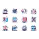 Marketing Line Icons Set - GraphicRiver Item for Sale