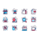 Shopping Line Icons Set - GraphicRiver Item for Sale
