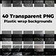 Plastic Wrapped Overlay Textures - GraphicRiver Item for Sale