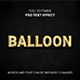 Balloon Text Effect - GraphicRiver Item for Sale