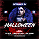 Horror Party Halloween Flyer - GraphicRiver Item for Sale