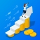 Isometric Concept of Business Analysis Analytics - GraphicRiver Item for Sale