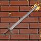 Hitting a Sword Against a Brick