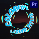 Colorful Liquid Titles | Premiere Pro MOGRT - VideoHive Item for Sale