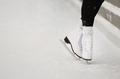 woman skater legs at open skating rink - PhotoDune Item for Sale