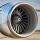 Airplane Turbine On The Runway Loop
