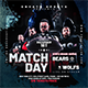 Match Day Football Flyer - GraphicRiver Item for Sale