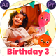 Happy Birthday Slideshow 3   MOGRT - VideoHive Item for Sale