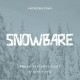 Snowbare Brush Display Font - GraphicRiver Item for Sale