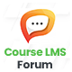 Forum & Discussion Addon Course LMS - CodeCanyon Item for Sale