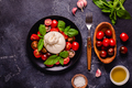 Tasty delicious buratta chese with fresh tomatoes - PhotoDune Item for Sale