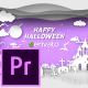 Paper Cut Halloween Wishes - Premiere Pro - VideoHive Item for Sale