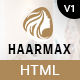 HaarMax - Barber And Salon HTML Template - ThemeForest Item for Sale