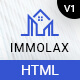 Immolax - Real Estate Sale & Rental Agency Services HTML Template - ThemeForest Item for Sale