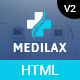 Medilax - Medical Doctor & Health Care Pharmacy HTML Template - ThemeForest Item for Sale