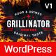 Grillinator - Food Restaurant Cafe Bar Grill & Bistro WordPress Theme - ThemeForest Item for Sale