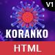 Koranko - Coronavirus Medical Prevention and Awareness HTML Template - ThemeForest Item for Sale
