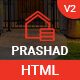 Prashad – Real Estate, Business, House & Immobilien HTML Template - ThemeForest Item for Sale