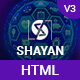 Shayan - Corporate Business & Portfolio Profile Freelancer HTML Template - ThemeForest Item for Sale