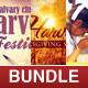 Church Harvest Flyer Template Bundle - GraphicRiver Item for Sale