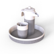Modern Tea Set with Teapot - 3DOcean Item for Sale