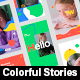 Colorful Intro Stories - VideoHive Item for Sale