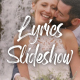 Lyric Slideshow Template | FCPX - VideoHive Item for Sale