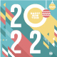 Set of Christmas and New Year 2022 Greeting Cards - GraphicRiver Item for Sale