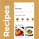 Online Recipes & Cooking App UI | Yummy - GraphicRiver Item for Sale